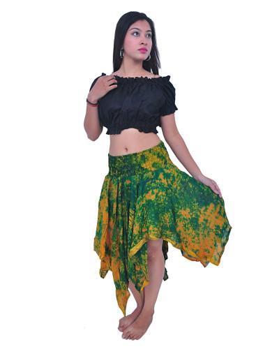 25 Tie Dye Silk Skirts for Women