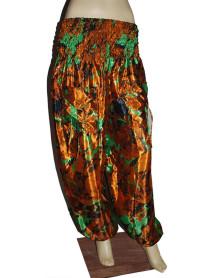 25  Trouser Silk Style Harem Pants XL Size