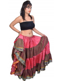25 yard Belly Dancing skirts wholesale 6 Pcs