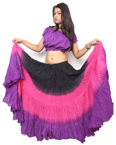 25 yard cotton skirt american tribal style - tribal skirts