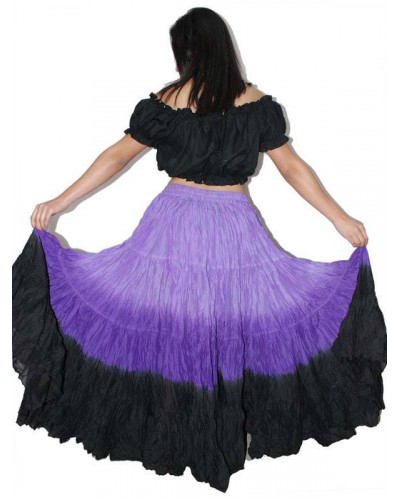 25 yard Gypsy Tribal Skirt