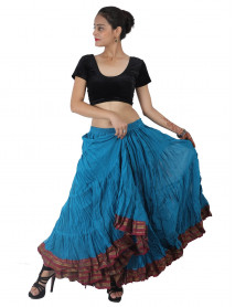 25 Yard Malaya Belly Dance Padma Lotus Skirt