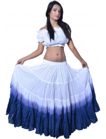 25 yard professional tribal dance costumes