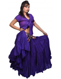 25 Yard skirt belly dance tribal - Store333 Skirts