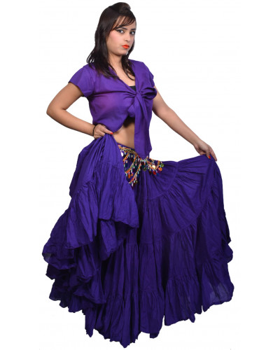 25 Yard skirt belly dance tribal - Store333 Skirts