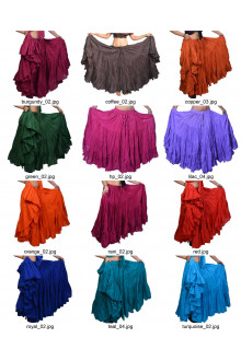 25 yard solid color skirt variation