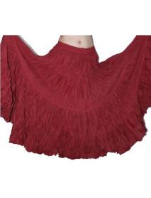 25 yard solid color skirt variation