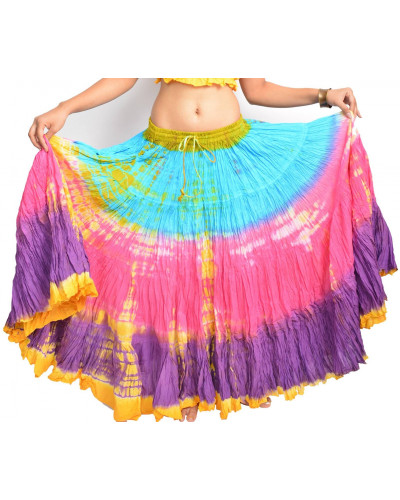 25 yard Tie Dye Skirts skirt wholesale
