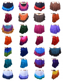 25 yard tie dye Whoesale skirts sale