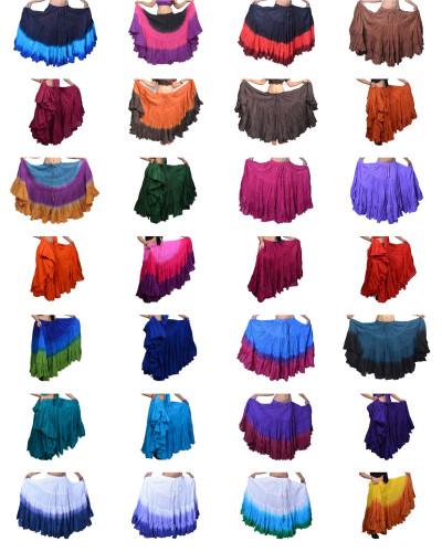 25 yard tie dye Whoesale skirts sale