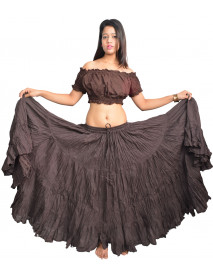 25 Yard Tribal Gypsy Skirt Pirate Look for Belly Dance - Store333