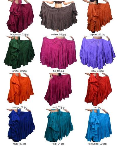 25 Yard Tribal Skirt variation 40 Colors