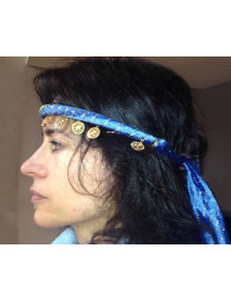 30 Dance head band with coins