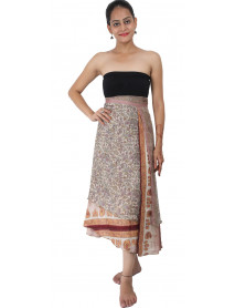 34 XL - 05 Large Plus size Magic Wrap Recycled Skirts / Dress