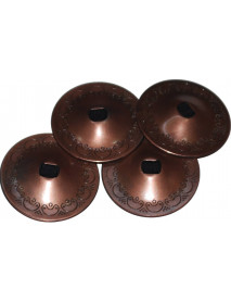 4 Antique Belly Dance Performance Zills Cymbals