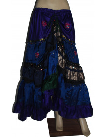 3  Rajasthan Indian Tribal Skirt