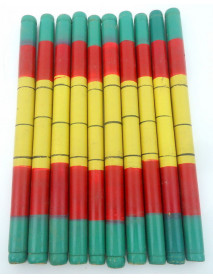 40 Bollywood Tribal and Garba Folk Dance Wooden Dandiya Sticks