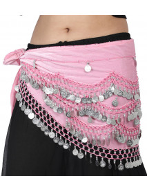 50 Belly Dance Hip Scarves Canada With Coins