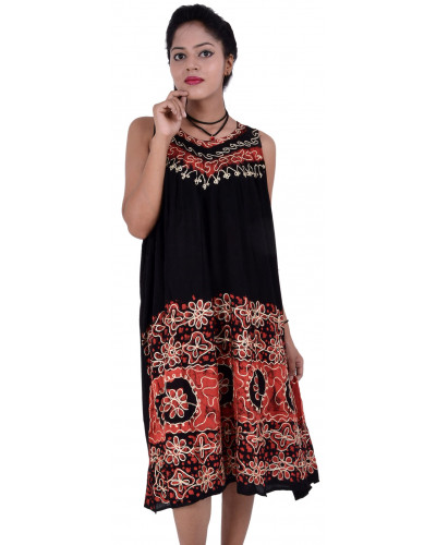 50 Embroidery Tunic Dresses For Women