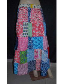 50 Ladies Cotton Patch Skirts Long