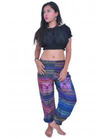 50 Multi Color Harem Pants with Pockets