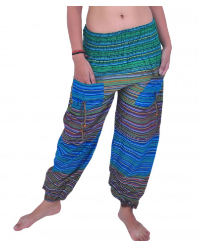 10 Multi Color Beachwear pants with Pockets