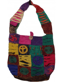 50 Patch Crossbody Nepali Bag with Mobile Pocket