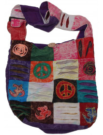 50 Patch Crossbody Nepali Bag with Mobile Pocket