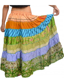 50 Pcs 8 Yards ATS Tribal Folkloric Dance Practice Skirts