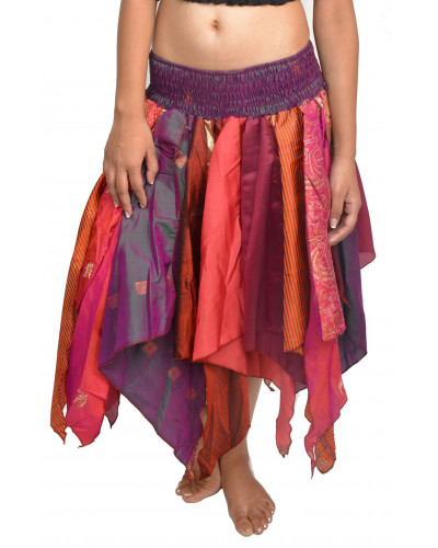 50 Rumal Petal Tribal style multi color skirts