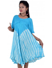 50 Tie Dye Rayon Dresses Wholesale