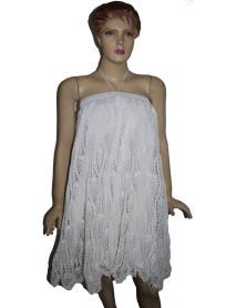 50 Wevez Boutique Crochet Long Flare Maxi Skirt