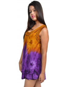 50 Wholesale Discounted Rayon Crepe Cotton Tunic Tops