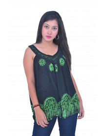 10  Wholesale Heavy Embroidery Women Tops