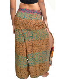 50 Wholesale Thai Fisherman Palazzo Wrap Pants for Women