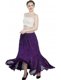 50 Women's Floor Length High-Waist Maxi Skirts