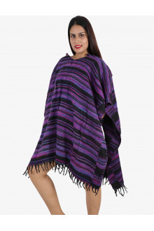 30 Women Long Woolen Ponchos for Winters