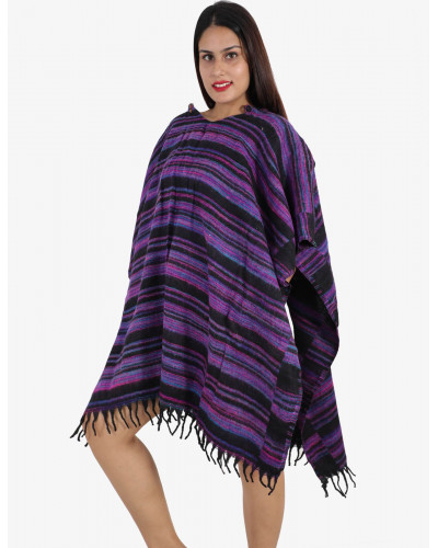 50 Women Long Woolen Ponchos for Winters Clearence