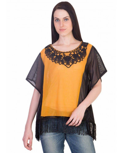 50 Womens Casual Summer Net Fabric Top Shirts