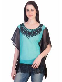 50 Womens Casual Summer Net Fabric Top Shirts