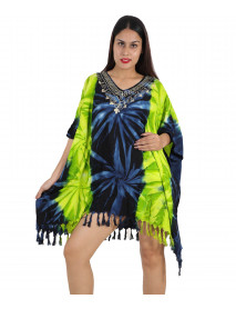5 Ladies Rayon Comfortable Day Dresses Ponchos