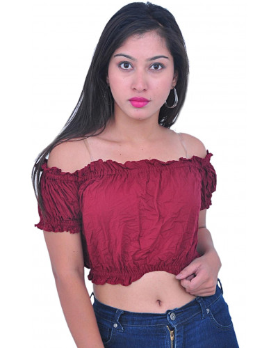 ATS Tribal Belly Dance Cotton Tops
