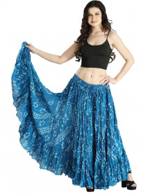 Belly Dance Practice Wear Vogue Bohemia over skirt