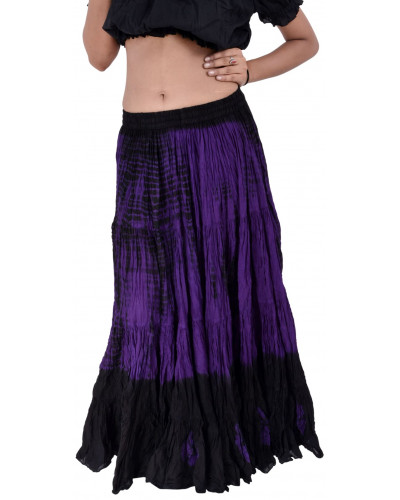 Belly Dance Tribal Cotton 25 Yard Skirt  color Combo