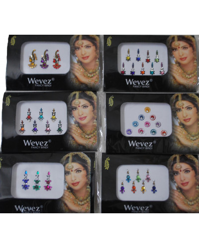 Belly Dance Women Makeup Stickers Bindi Dots