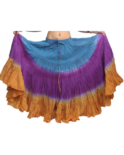 Dip Dye 25 Yard Pure Cotton Skirts - Store333
