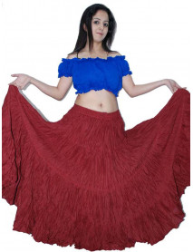 Egyptian Folklore 25 yard skirt