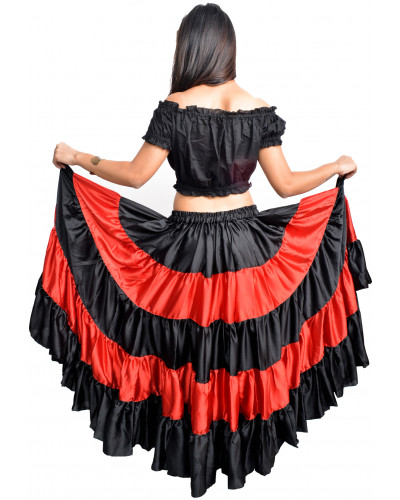 Flamenco sk​irts for flamenco dance lot of 10 skirt