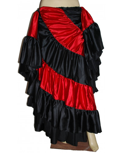 Flamenco skirts for women - Red/Black free ship