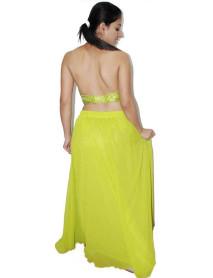 Georgette belly dancers skirt